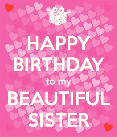 happy birthday images for my sister happy birthday to my beautiful sister poster ruth keep