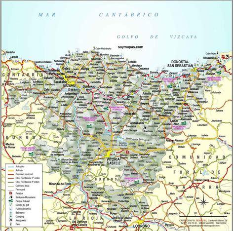 pais vasco mapa euskadi threeblindants
