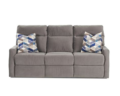 recliner pillows for bed klaussner monticello reclining sofa with soft track arms