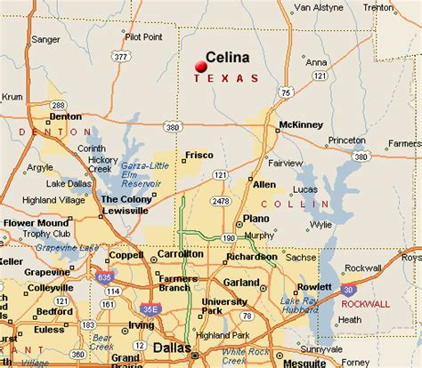 map of celina texas celina map related to real estate listings of homes for sale in collin county texas