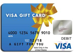 Gift Cards For Free $50 Visa Gift Card Png