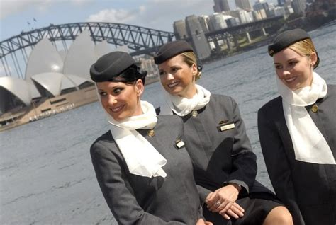 Etihad Cabin Crew by Etihad Airways Cabin Crew In Sydney By The Opera House And