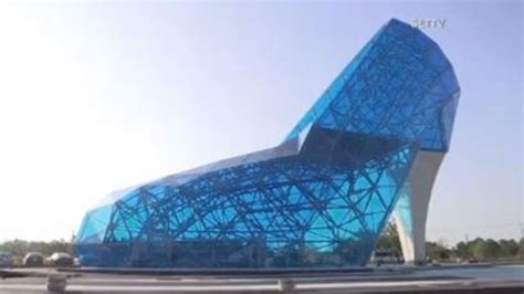 taiwan church shaped like a shoe church in taiwan giant blue shaped like a shoe
