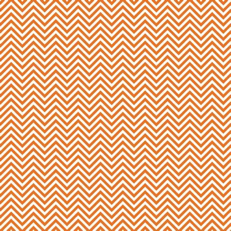Orange Chevron chevron pinstripes orange fabric misstiina spoonflower