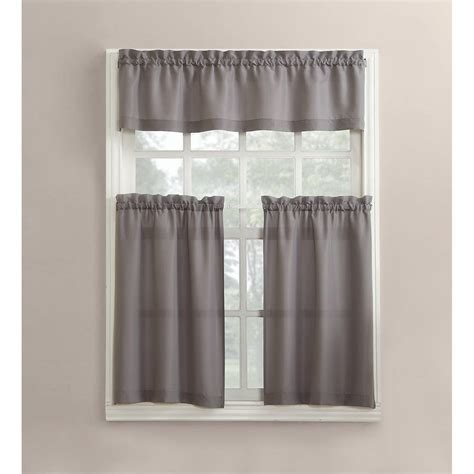walmart kitchen curtains kitchen curtains walmart com