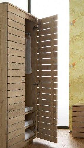 slatted cupboard doors option  smaller narrow