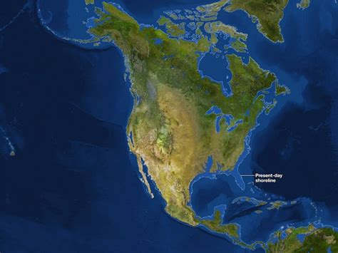 maps    earth      ice melted