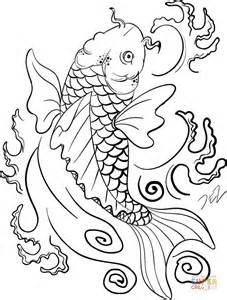 9 color by numbers coloring book of koi fish an color by numbers japanese koi fish carp coloring book color by number coloring books volume 9 books disegno di dipinto di carpa koi da colorare disegni da