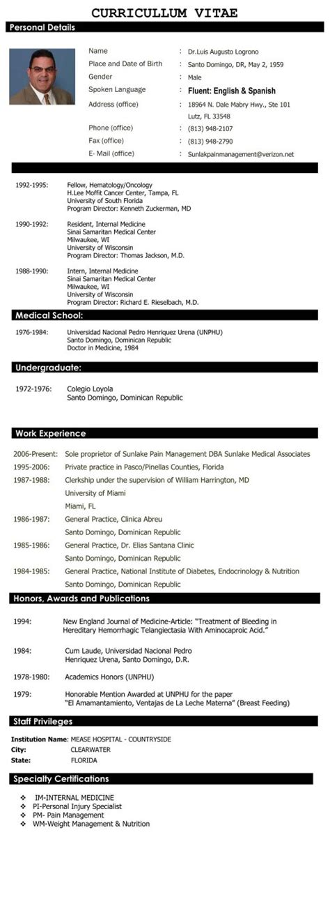 Sle Resume For Fresh Graduate Engineering Sle Cover Letter For Freshers 16 Images Resume For Doctors Sales Doctor Lewesmr Personal