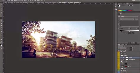 adobe photoshop architecture tutorial architectural post production tutorial inserting peoples