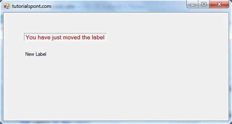 tutorialspoint vb net pdf vb net label control
