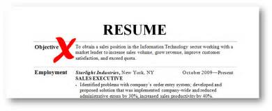 Objective Statement Exles For Resume by Resume Objective Exles 2015