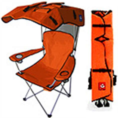 Folding Chair With Shade by Top Buys For A Great Tailgate