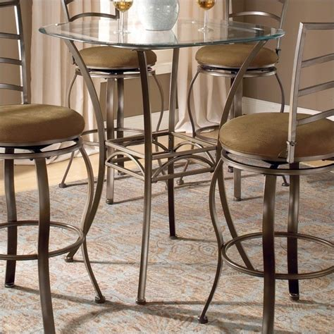 Bar Height Bistro Table Hillsdale Brookside Bar Height Bistro Table 4815ptb