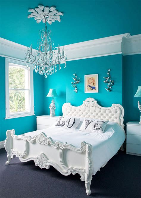 white turquoise bedroom 50 best bedrooms with white furniture for 2017