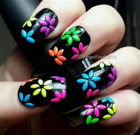 design flower nail art top 10 flower nail art nail art flower designs