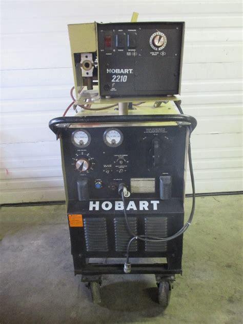 Hobart Wire Feeder hobart rc 301 welder 300 with hobart 2210 wire feeder ebay