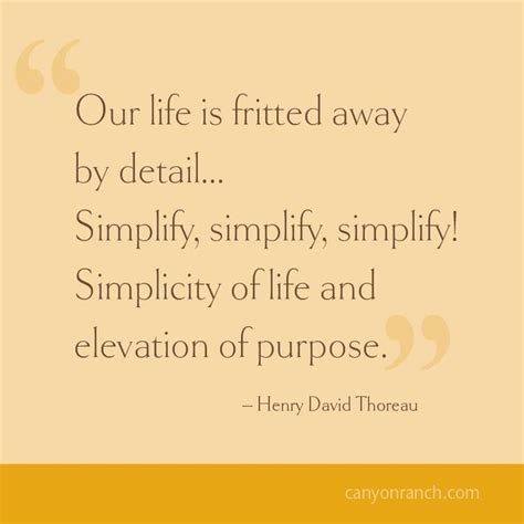 quotes thoreau simplicity quotes thoreau quotesgram