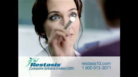 restasis commercial actress restasis tv spot tears ispot tv