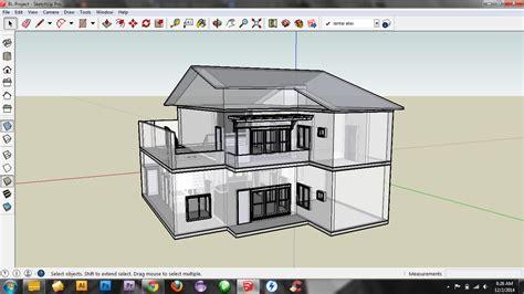 tutorial menggambar rumah 3d dengan autocad belajar menggambar rumah 3d dg sketchup rizal robiansyah