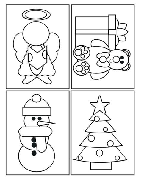 printable christmas cards for students to color ruth s sting corner coloring cards