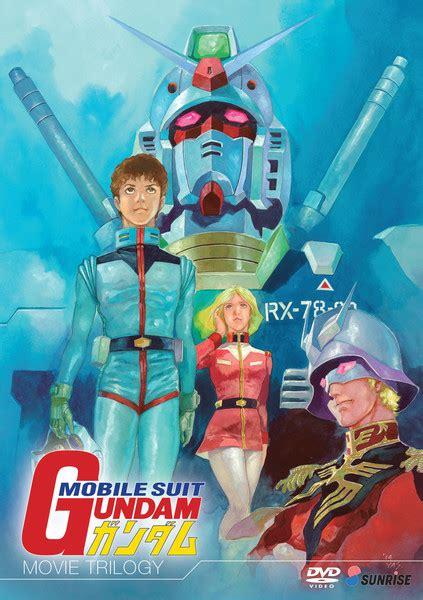 film anime gundam mobile suit gundam movie trilogy dvd