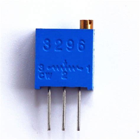 multi turn variable resistor preset 3296 variable resistor multi turn top adjust potentiometer buy multi turn potentiometer
