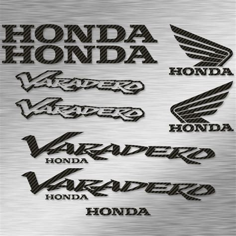 Sticker Honda Varadero by Kit Autocollants Honda Varadero Stickers Moto