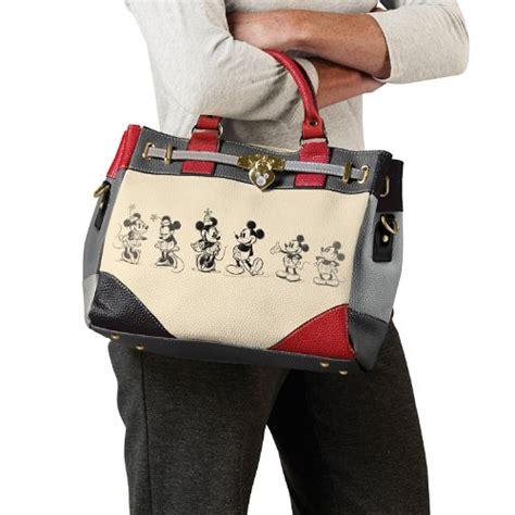 Mickey And Minnie Disney Import Preloved handbag disney mickey and minnie story handbag by