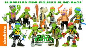 tmnt blind bags nickelodeon mutant turtles out of the