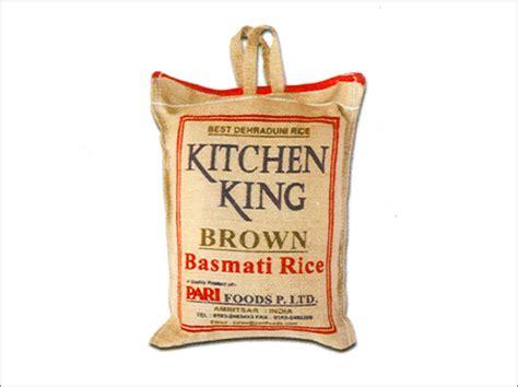 Kitchen King by Kitchen King Brown Basmati Rice
