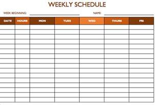 free schedule template free work schedule templates for word and excel