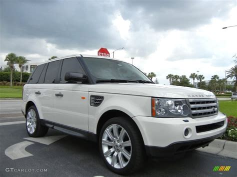 land rover supercharged white 2008 range rover sport supercharged white imgkid com