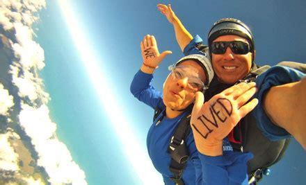 tandem skydive   vouchers grabone