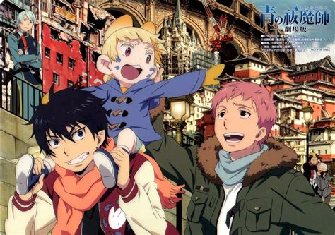 daftar film exorcist ao no exorcist the movie wire subs