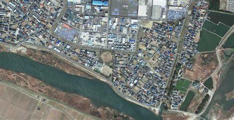 japon imagenes satelitales japon imagenes satelitales antes y despues de tsunami
