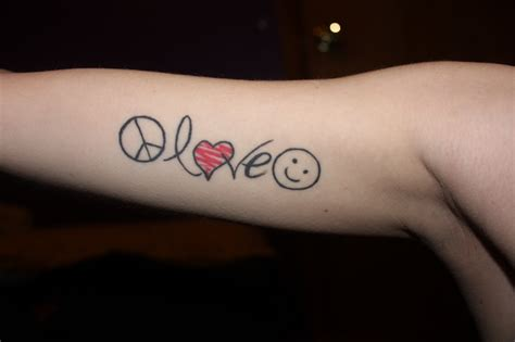 peace love happiness by kathleenclark on deviantart
