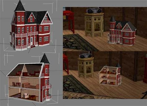 charmed doll house mod the sims will loyd wright dollhouse now recolourable updated 2007 04 04