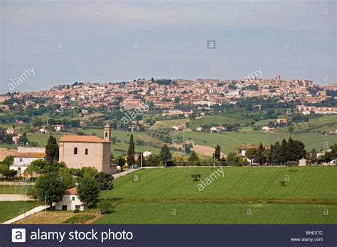 marche recanati recanati marche italia stock photo 27969408 alamy