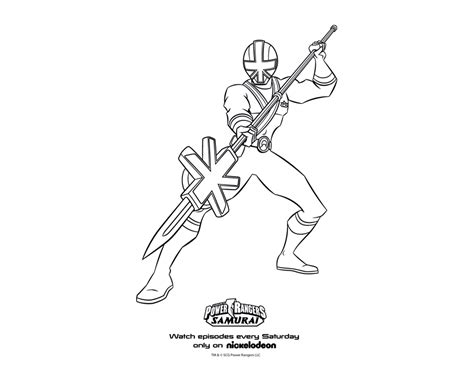 power rangers samurai coloring pages red green samurai ranger coloring pages coloring expose