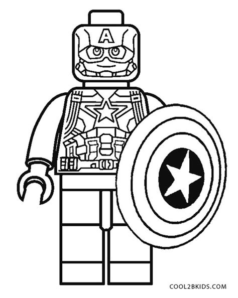 coloring pages lego captain america free printable captain america coloring pages for kids