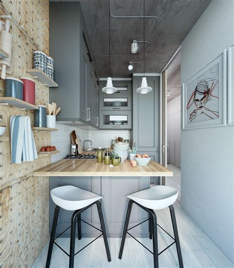 kitchen ideas for apartments two takes on the same small apartment