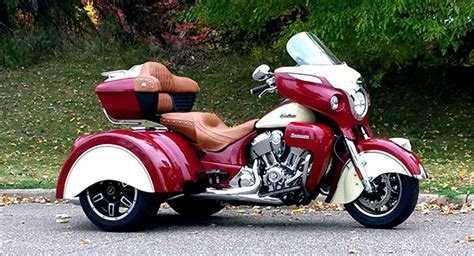 First Indian Roadmaster Trike Is Ready, Looks Really Trick