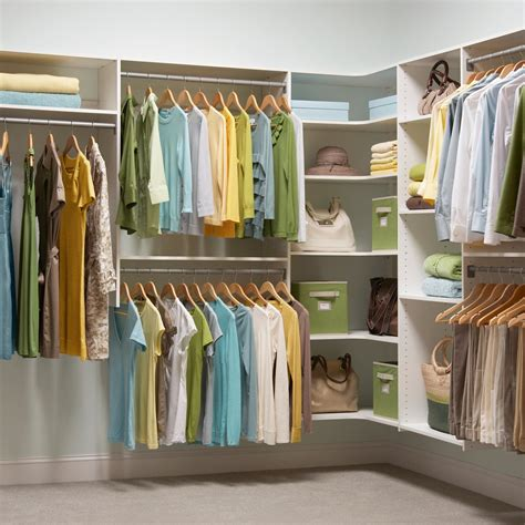 dressing closet modern dressing room with martha stewart walk in closet corner shelves and green fabric storage