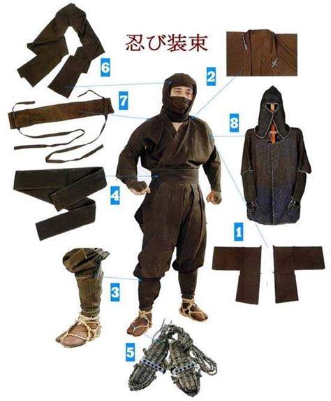 Выкройка для костюма ниндзя