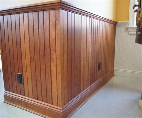 Staining Wainscoting wood stain vs painted wainscoting walls