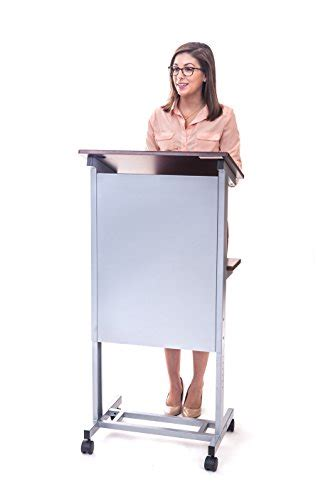 heavy duty standing desk stand up desk store mobile adjustable height lectern