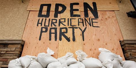 hurricane party how to throw a hurricane party