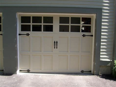 Garage Door Ideas Design 3 With Fluer De Lis Hinges From Cadras