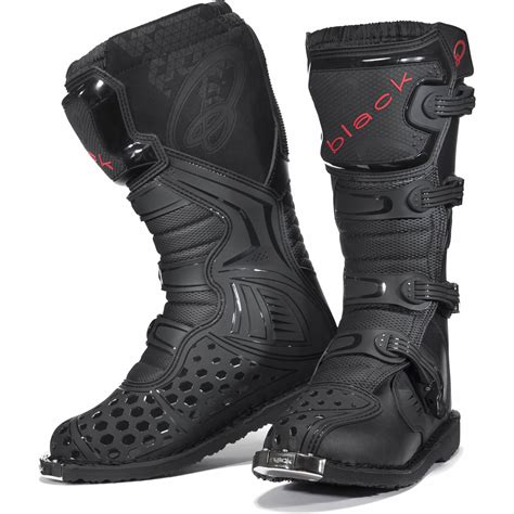 ebay motocross boots black mx enigma ce approved motocross boots road